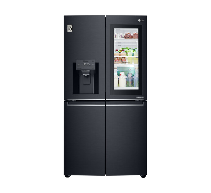 LG 881 l 4-Door InstaView Fridge/Freezer with Water and Ice Dispenser