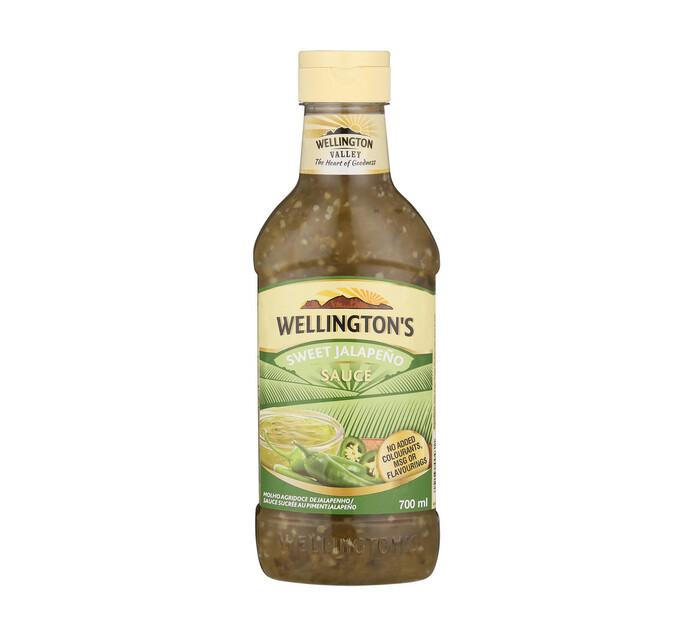 Wellingtons Sauce Sweet Jalapeno (12 x 700ml)