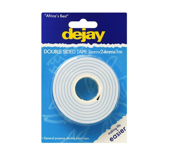 Dejay 24X3mmX1m Double Sided Tape