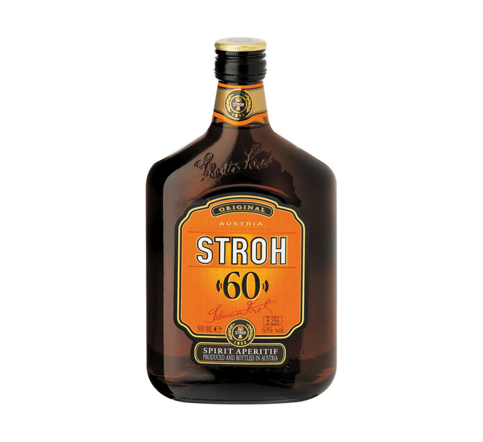 Stroh Rum 60% (1 x 500ml)
