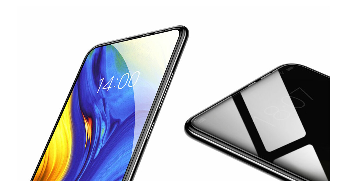 Baseus 0.3mm Curved Glass Screen Protector for Xiaomi Mix 3