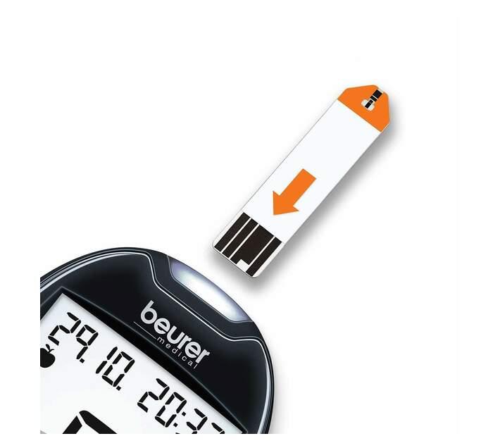Beurer Diabetes Blood Glucose Monitor GL 44 mmol/L Black