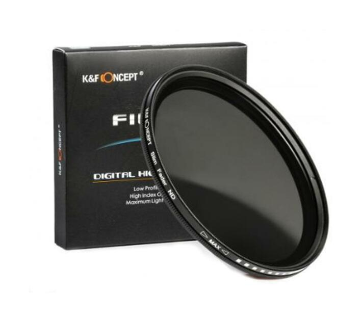 K&F 77mm ND2 to ND400 Variable Neutral Density ND Filter