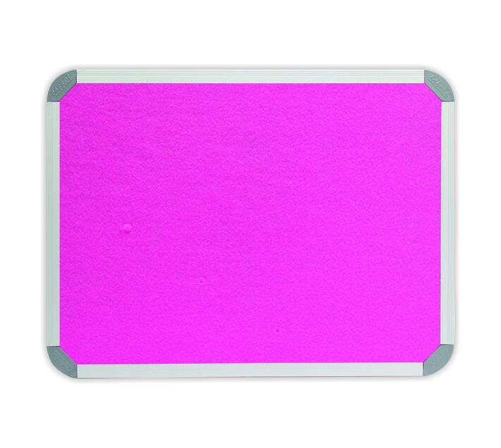PARROT PRODUCTS Info Board (Aluminium Frame, 900*900mm, Pink)