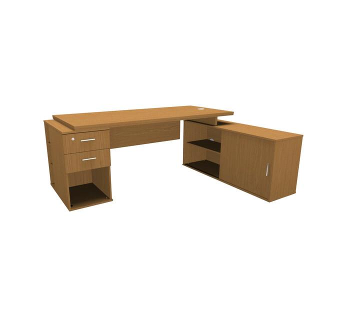 Elite Platinum L Combo Desk