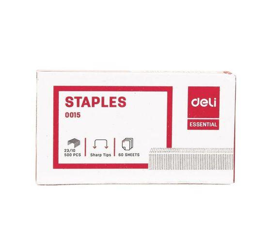 Deli Stationery Staples Staple - 23/10 Silver
