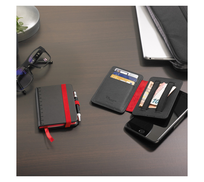 Troika Credit Card Case with RFID Fraud Prevention 2-STRAP