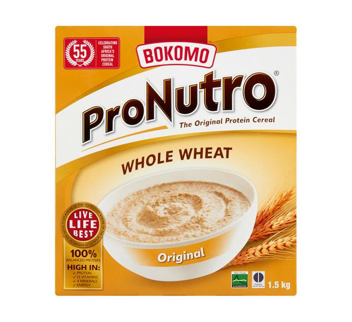 Bokomo Pronutro Whole Wheat  Original (1 x 1.5kg)