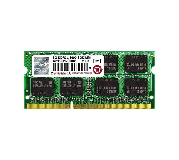 Transcend Low Voltage DDR3-1600 So-Dimm - 8GB