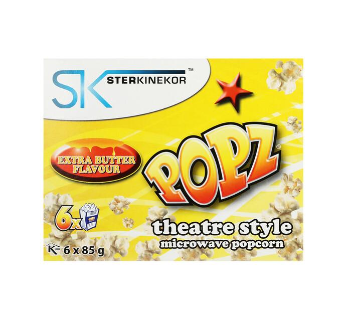 Sterkinekor Microwave Popcorn Extra Butter (1 x 6's)