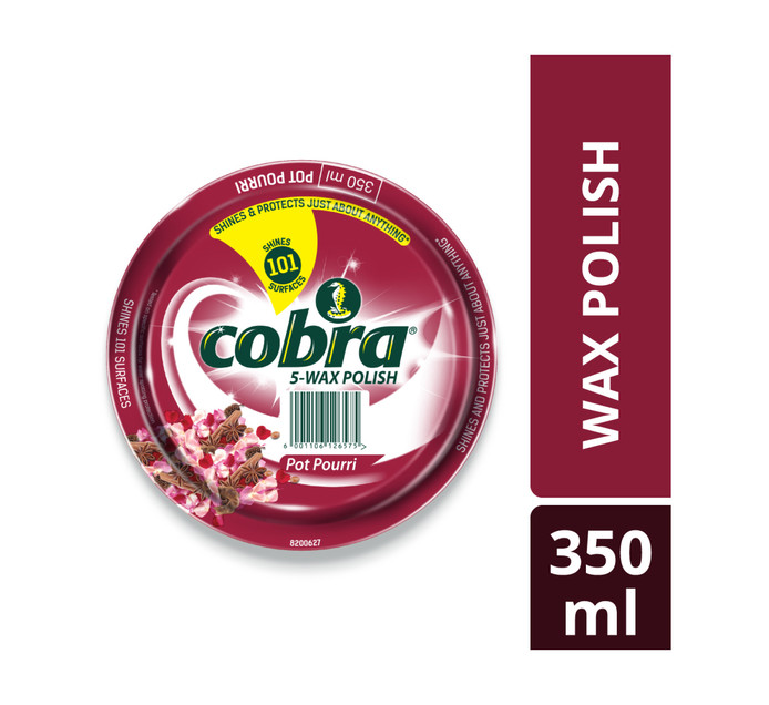 Cobra Paste Pot Pourri (6 x 350ml)