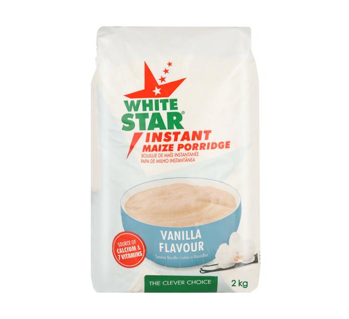 White Star Instant Maize Porridge Vanilla (1 x 2kg)