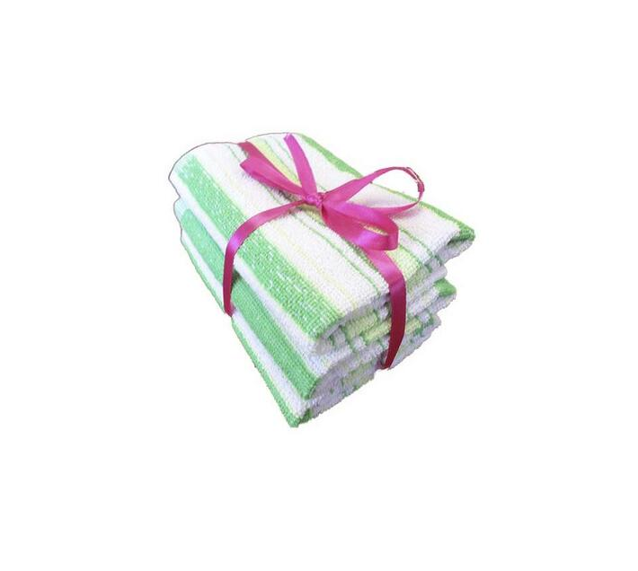 Bunty Alpine Guest Towel Green (3Pc Pack) 30x50cms 450GSM