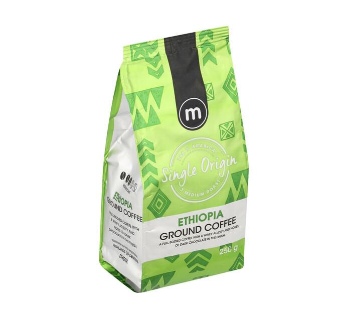 M Ground Coffee Single Origins Ethiopia (12 x 250g)