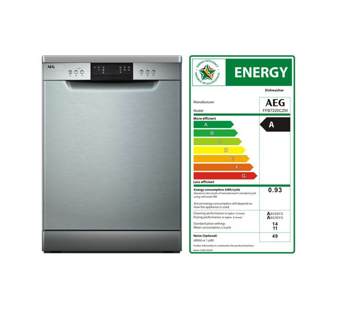 AEG 14-Place Dishwasher