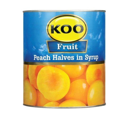 KOO Peaches Halves (1 x 3.06kg)