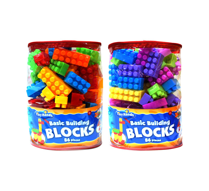 86-Piece Tiny Hands Building Blocks