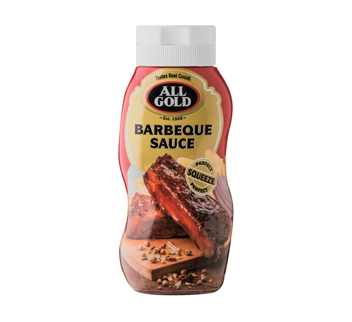 All Gold Sauces Squeeze Bottle Barbeque (1 x 500ml)