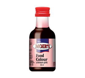 MOIRS Flavouring & Essence Crimson Pink (20 x 40ml)