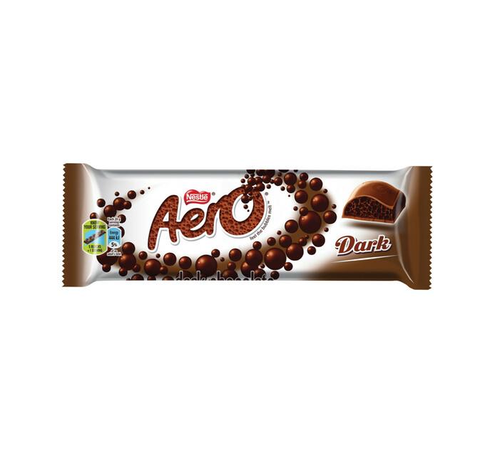 Nestle Aero Chocolate Bar Dark (1 x 40g)