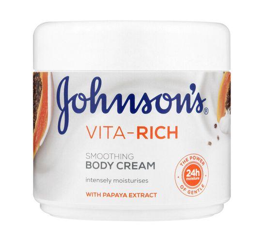 Johnsons Vita Rich Body Cream Papaya (1 x 350ml)