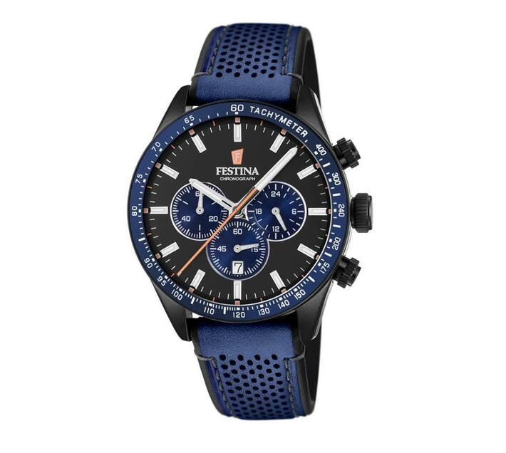 Festina Chronograph Men`s Wrist Watch - Blue - The Originals