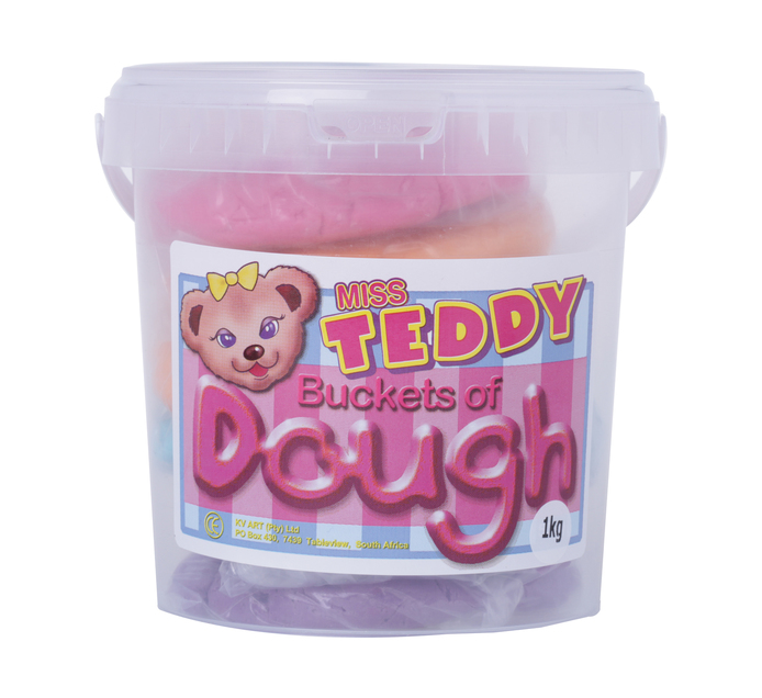 Teddy 1kg Play Dough Pink
