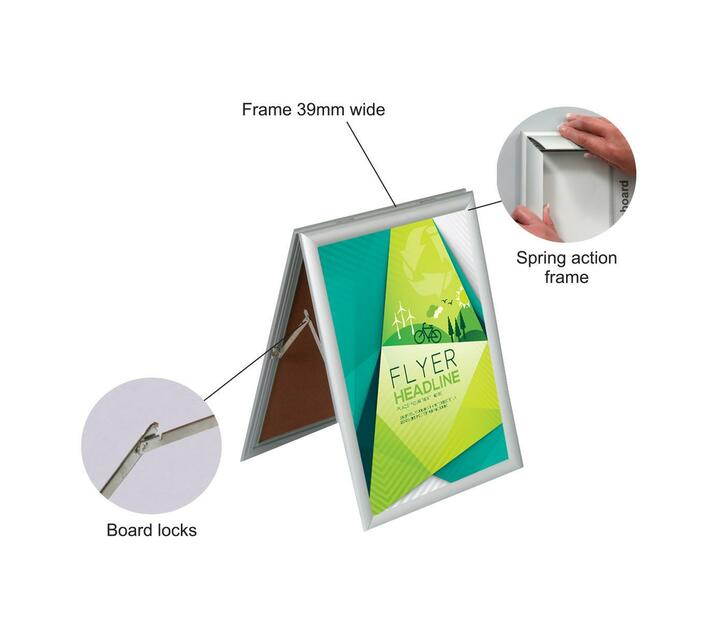 PARROT PRODUCTS A-Frame Poster Frame (Sandwich A1)