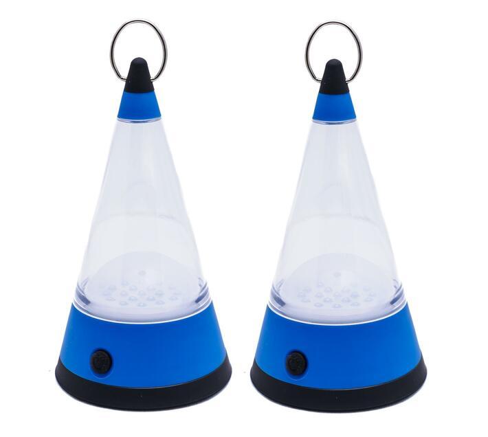 Camping Lantern 360 Degree Pyramid - 2 Pack