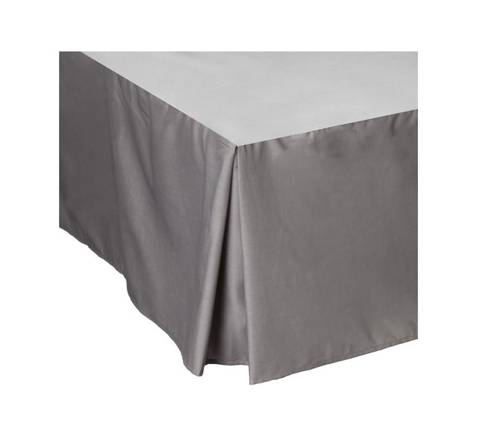Primaries Double Box Pleat Grey