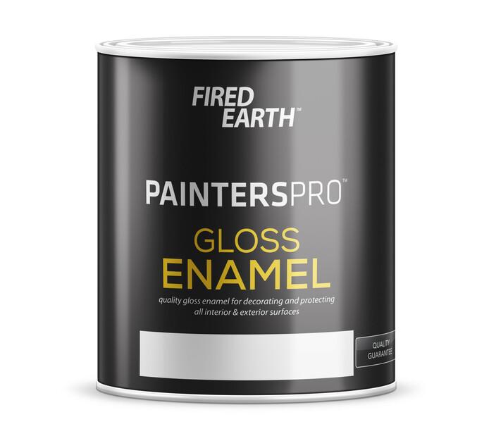 FIRED EARTH GLOSS ENAMEL 1L, MINES GREY