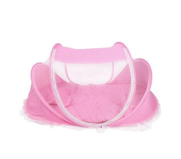 Totland Foldable Mosquito Tent - Pink