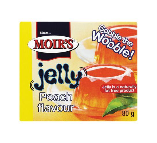 Moir's Jelly Peach (1 x 80g)