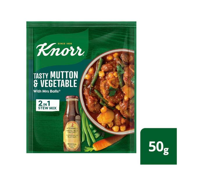 Knorr Tasty Packet Soup Mutton&Veg W/M Bal (1 x 1)