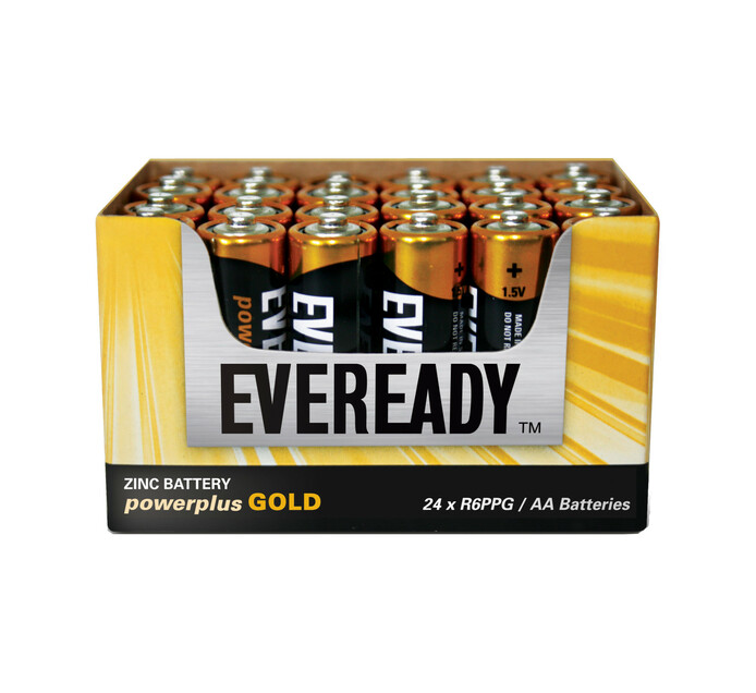 Eveready Power Plus Gold AA Batteries 24-Pack