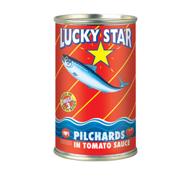 LUCKY STAR Pilchards in Tomato Sauce (24 x 155g)