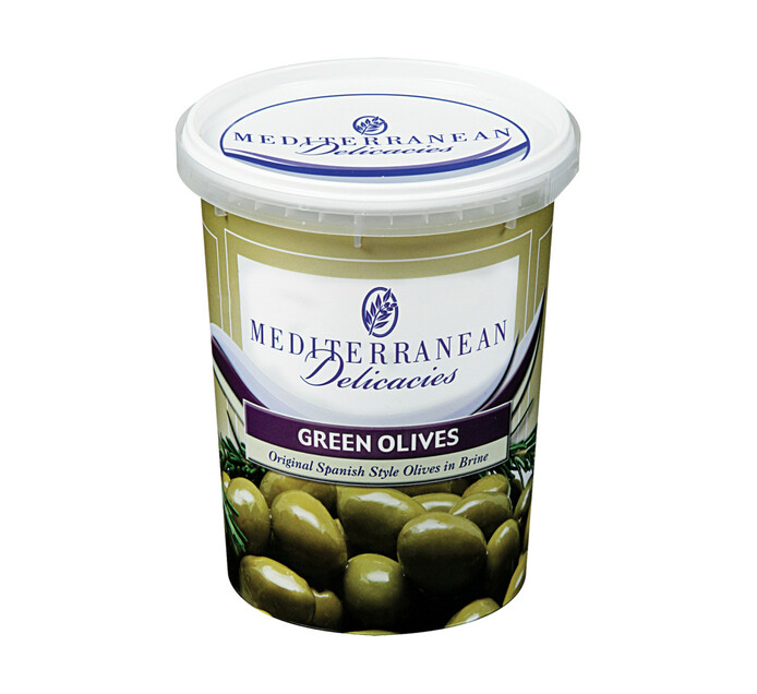 Mediterranean Deli Green Olives Large (1 x 700g)