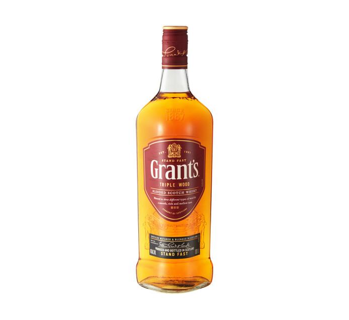 Grants Triple Wood Blended Scotch Whisky (1 x 1 l)