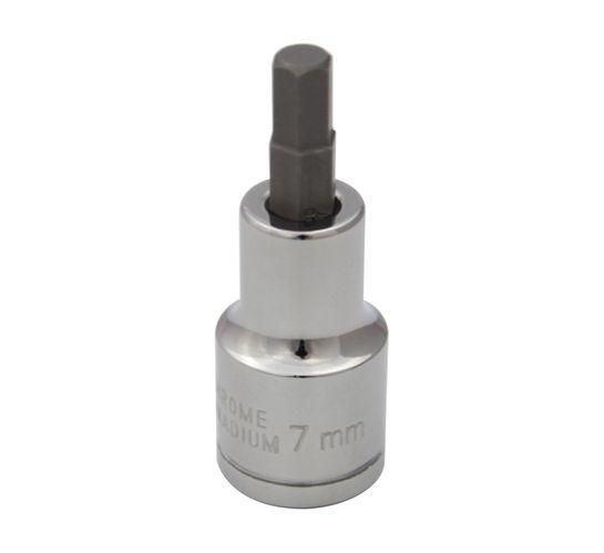 Mastercraft 7mm 1/2dr Hex Bit Socket 7mm/60l