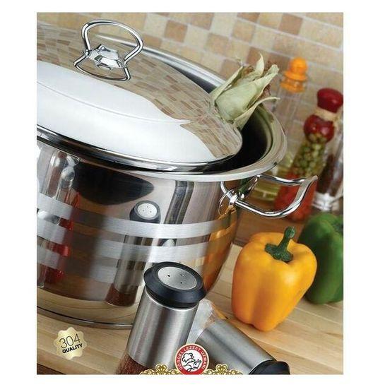 Vivaldi Stainless Steel Cookware Set - 10 Pieces