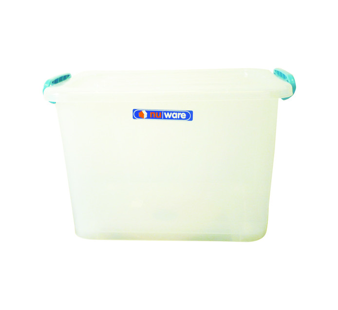 Store 'n Stak 42 l Storage Box with Lock Lid