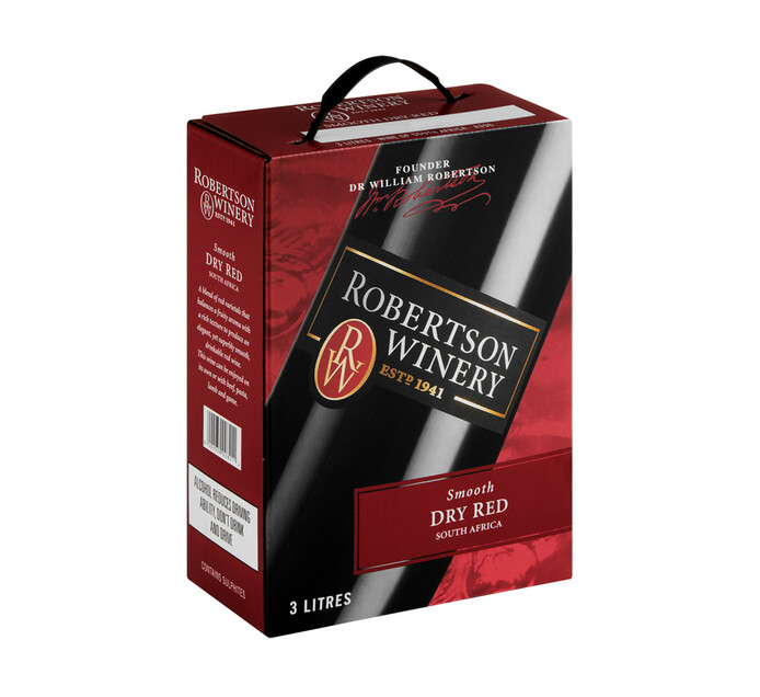Robertson Smooth Dry Red (1 x 3 l)