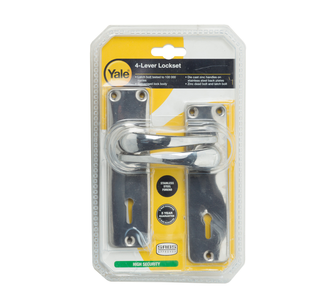 Yale 4 Lever Lockset