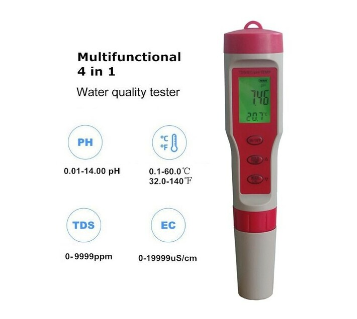 4 in 1 Water Quality Tester