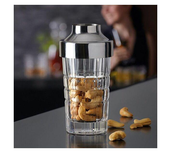 Leonardo Glass Snack Dispenser with Stainless Steel Lid Spiritii
