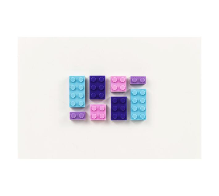 Bubble Gum Coloured 1kg Bag of Bricks