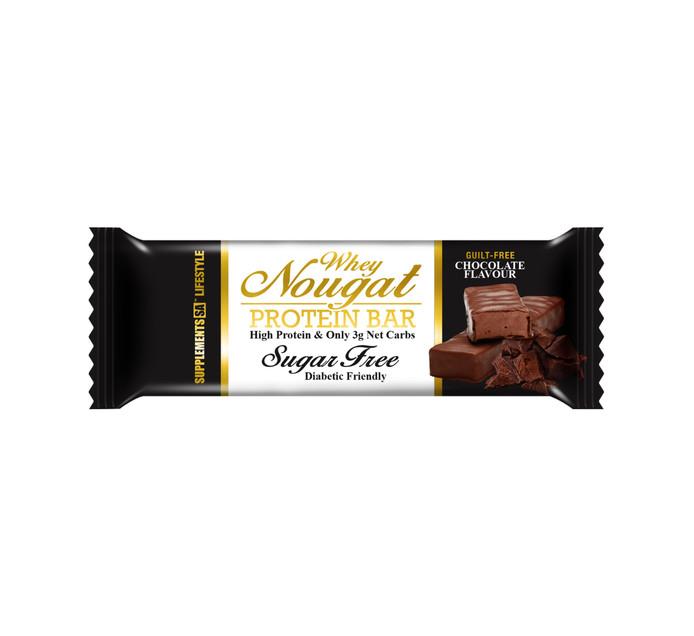 Supplements Sa 50 g Whey Nougat Protein Bar---Sugar Free
