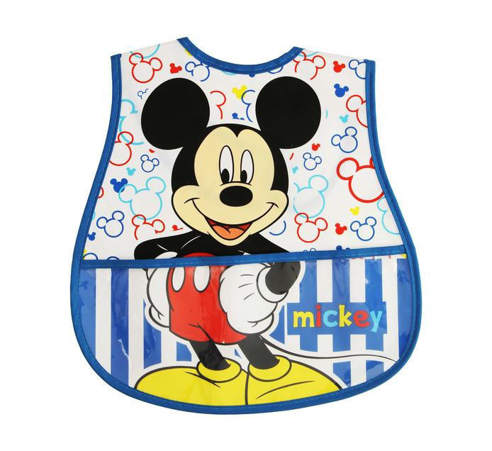 Disney Mickey Mouse Peva Catcher Bib