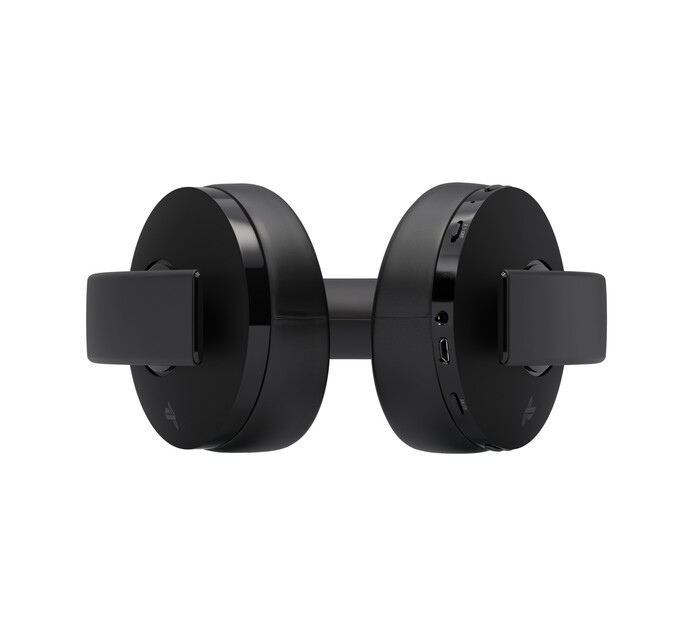 PS4 Black Gold Wireless Stereo Headset