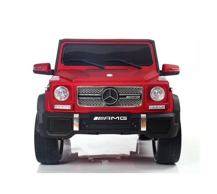 Kids Electric Ride On Mercedes G65 Red